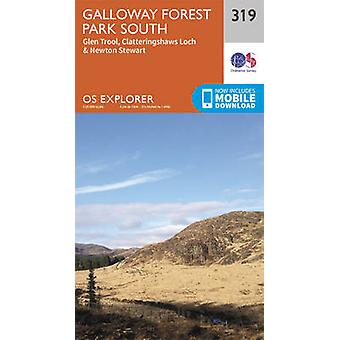 Galloway Forest Park South (September 2015 ed) by Ordnance Survey - 9