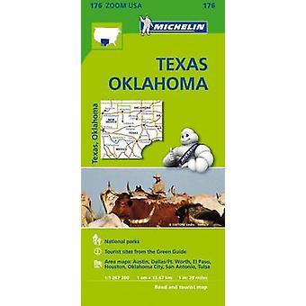 Texas - Oklahoma Zoom Map 176 - 9782067190924 Book