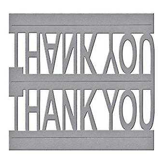 Spellbinders Thank You Pop-Up Die Designer Series (S3-247)