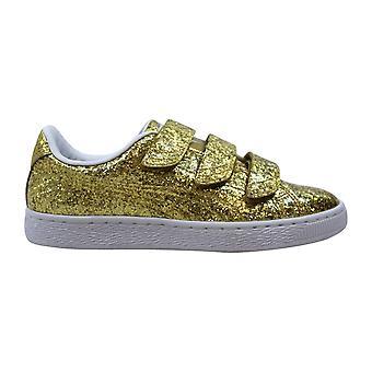 Puma Basket Correa Glitter Gold 364070 02 Mujer
