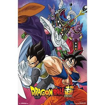 Poster - Studio B - Dragon Ball Super - Group 36x24