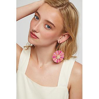 Louche Ernest Tassel Earring Pink