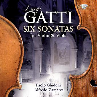 Luigi Gatti - Luigi Gatti: Six Sonatas for Violin & Viola [CD] USA import