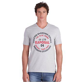 Tee Shirt Chiné Logo Golia - Kaporal