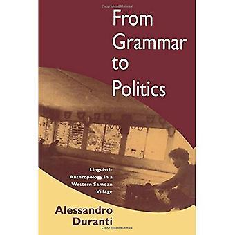 Fra grammatik til politik: sproglig antropologi i en vestlig Samoan landsby