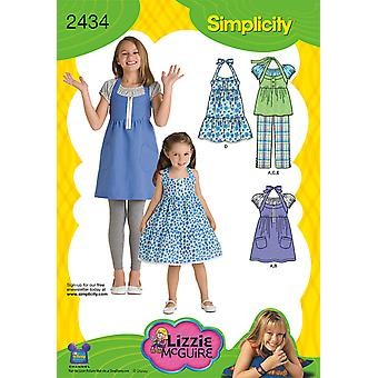Simplicity Child Girl Sportswear 7 8 10 12 14 U02434k5