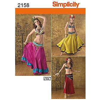 Simplicity Crafts Costumes 14 16 18 20 22 U02158r5