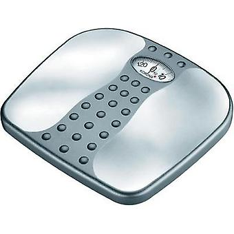 Analog bathroom scales Korona Gero Weight range=130 kg Silver-grey