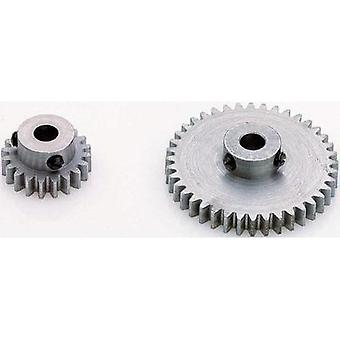 Motor pinion Reely modultypen: 0,6 bar diameter: 3,2 mm nr. tenner: 21