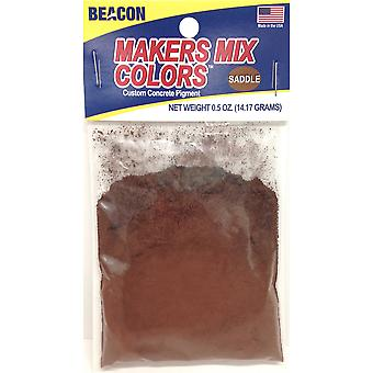 Makers-Mix Stepping Stone Colorant .5oz-Saddle MMC-S5OZB