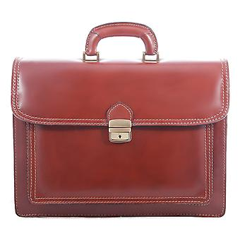 CTM work bag, satchel, leather men's 24-hour Office document holder made in italy