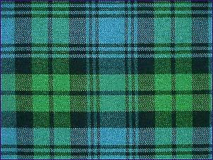 Campbell, Ancient - Pure Wool Tartan