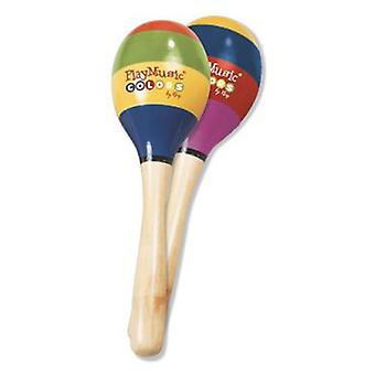 Reig Wood maracas (Toys , Educative And Creative , Music , Instruments)