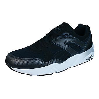 Puma R698 Tech Trinomic Mens Trainers / Shoes - Black