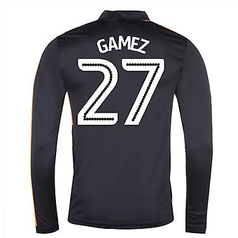 2016-17 Newcastle Away Long Sleeve Shirt (Gamez 27)