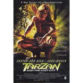 Tarzan and the Lost City Movie Poster Print (27 x 40)
