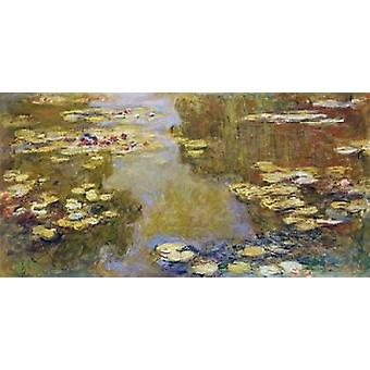 The Lily Pond Poster Print by Claude Monet
