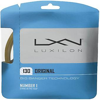 Luxilon original 1.30 amber single set 12 m