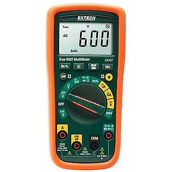 Handheld multimeter digital Extech EX350 Calibrated to: Manufacturer's standards (no certificate) CAT III 600 V Display
