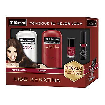 Tresemme Kit cheratina (shampoo + balsamo + Nails + Gloss)