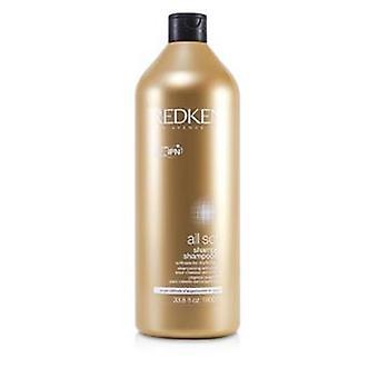 Redken All Soft Shampoo (For Dry/ Brittle Hair) - 1000ml/33.8oz