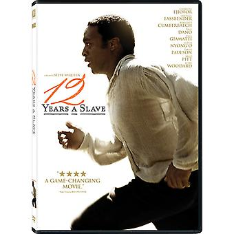 12 Years a Slave [DVD] USA import