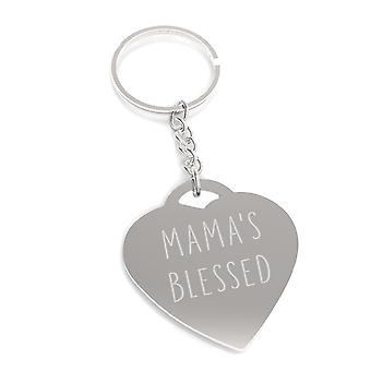 Mama's Blessed Unique Design Key Chain Cute Gift Ideas For Moms