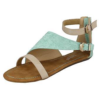 Damer Savannah flad muldyr Sandal 'F0732'