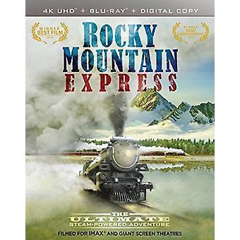 IMAX: Rocky Mountain Express [Blu-ray] USA importare
