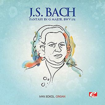 J.S. Bach - fantasi i G stora Bwv 572 [CD] USA import