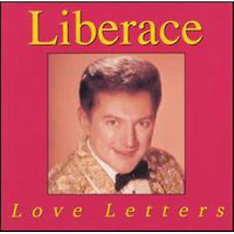 Liberace - kærlighedsbreve [CD] USA importerer