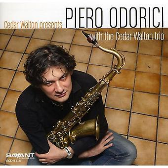 Piero Odorici - Cedar Walton præsenterer Piero Odorici [CD] USA import