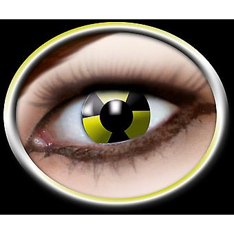 Contact lenses nuclear power radioactive 1 pair Carnival Halloween