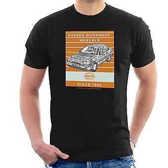 Haynes Workshop manuell 1923 Ford Mondeo Stripe menn t-skjorte
