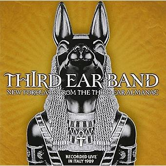 Tredje Ear Band - nye prognoser fra den tredje øre Almanak [CD] USA importerer