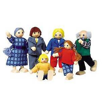 Goki Flexible puppets City Family