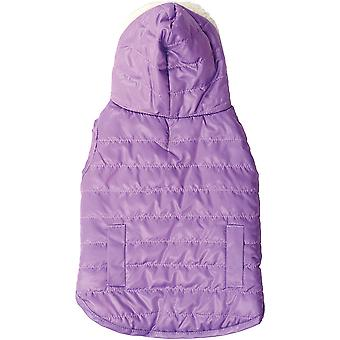 Dog Reversible Hooded Coat-Lilac Extra Small 701753