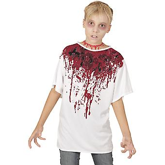 Children's costumes  T-shirt with blood for children