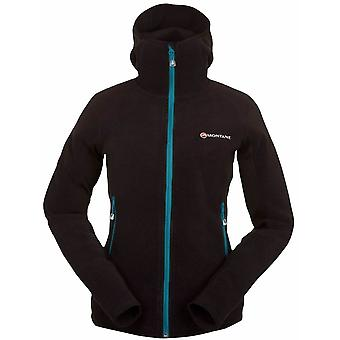 **SALE**Montane Womens Volt Fleece Hoodie Black (UK Size 10)