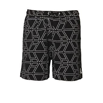 883 POLICE Thunder Swim & Board Shorts | Jet Black