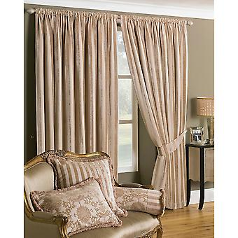 Riva Home Salzburg Striped Pencil Pleat Curtains