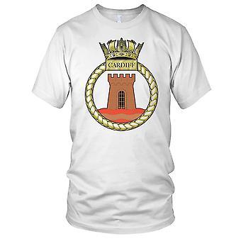 Royal Navy HMS Cardiff Kids T Shirt
