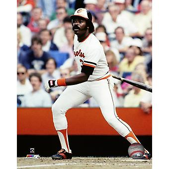 Eddie Murray 1983 Aktion Fotodruck