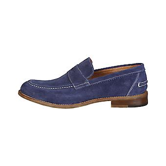 Made in Italia Herren Mokassins blau