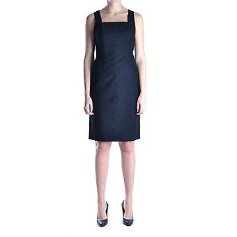 Red Valentino women's MCBI249014O black cotton dress