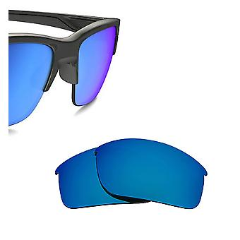 Thinlink Replacement Lenses Polarized Blue Mirror by SEEK fits OAKLEY Sunglasses
