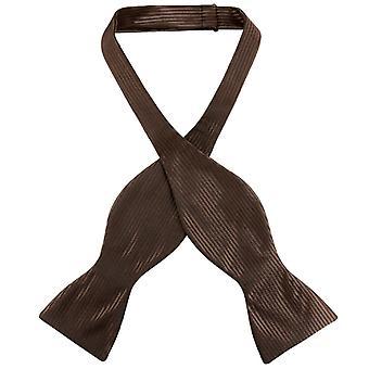 Antonio Ricci SELF TIE Bow Tie Solid Ribbed Men's BowTie