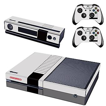 REYTID Nintendo Xbox One Console Skin / Sticker + 2 x Controller Decals & Kinect Wrap - Full Set - Compatible with Microsoft XB1
