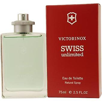 Victorinox Swiss Unlimited By Victorinox Edt Spray 2.5 Oz