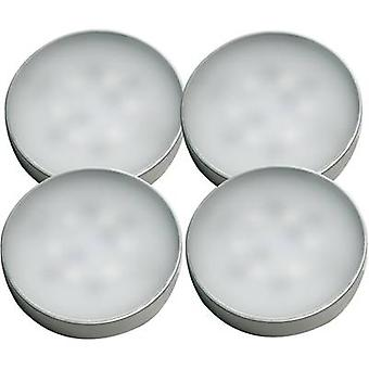 LED surface-mount light 4-piece set 8.5 W Warm white Müller Lich
